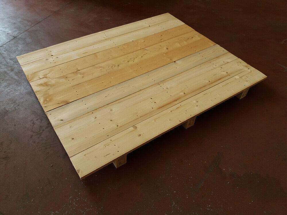 Pianali in legno presa singola