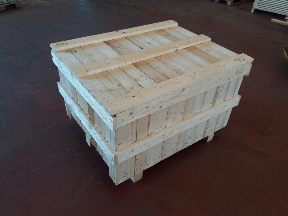 Cassa in legno doppia presa